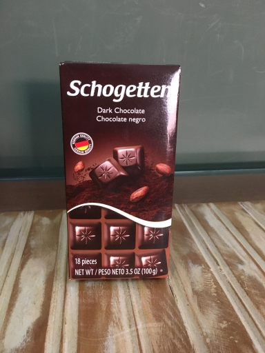 Chocolate Shogetten Alemao Amargo