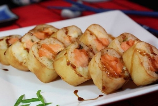 Makimono Hot Haruhot Salmão
