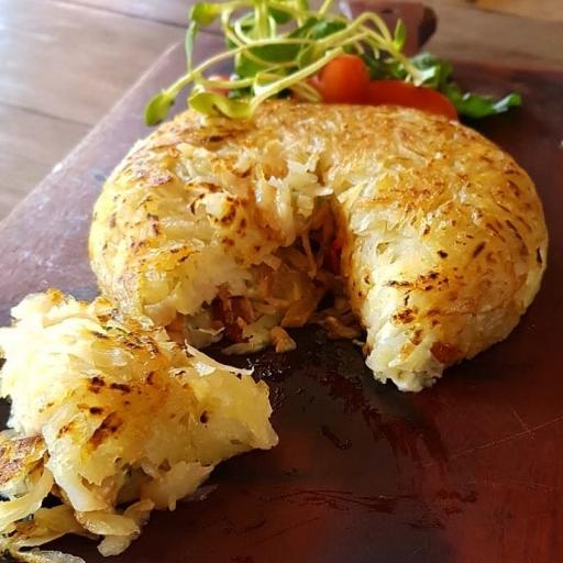 Batata Rostie Presunto C/queijo (Média)