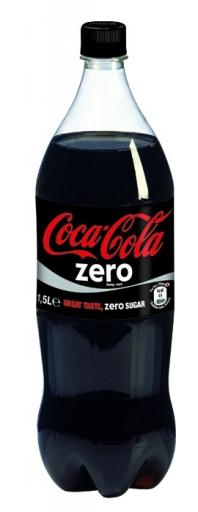 Coca Zero 1,5 Litros