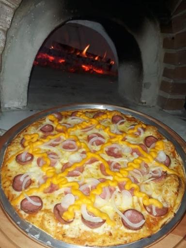 Pizza Calabresa Cheddar
