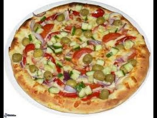 Pizza Média Vegetariana + Borda + Entrega Grátis + Refri