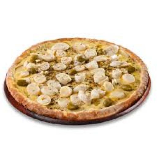 Pizza Grande Palmito + Borda + Entrega Grátis + Refri