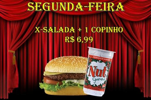X- Salada + Copinho
