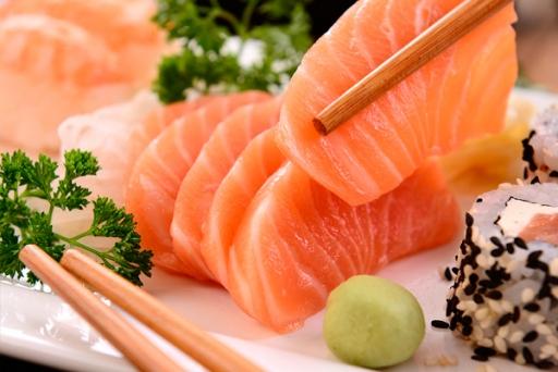 Sashimi Salmão (5 Unid)