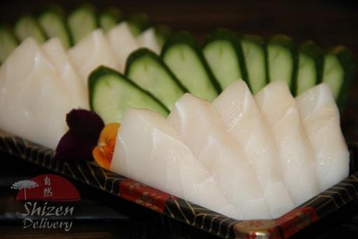 Sashimi Peixe Branco (10 Unid)