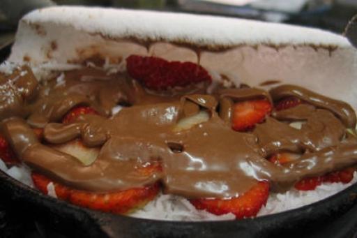 Tapioca Nutella, Ovomaltine e Morango