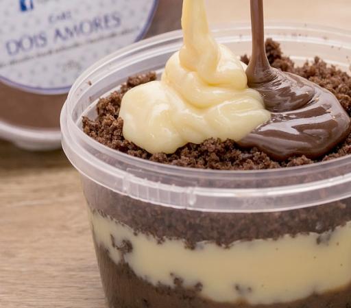 Bolo No Pote Leite Ninho C/chocolate (150Gr)