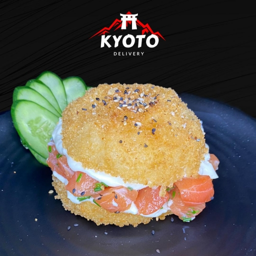 Sushi Burger Salmão