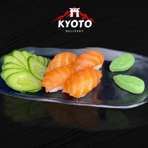Sushi de Salmão (10 Unidades)