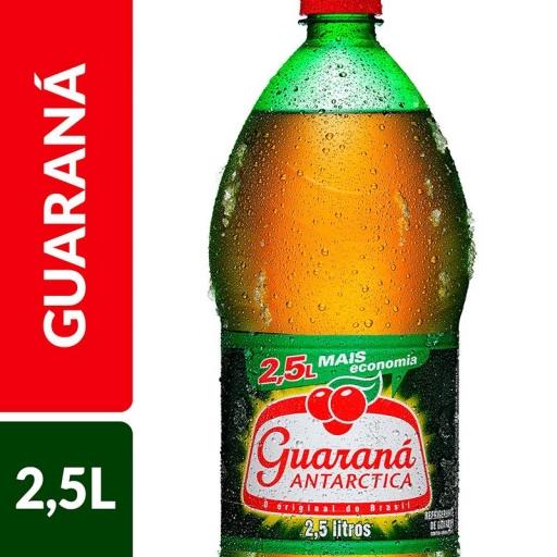 Guaraná Antártica 2,5 Litros
