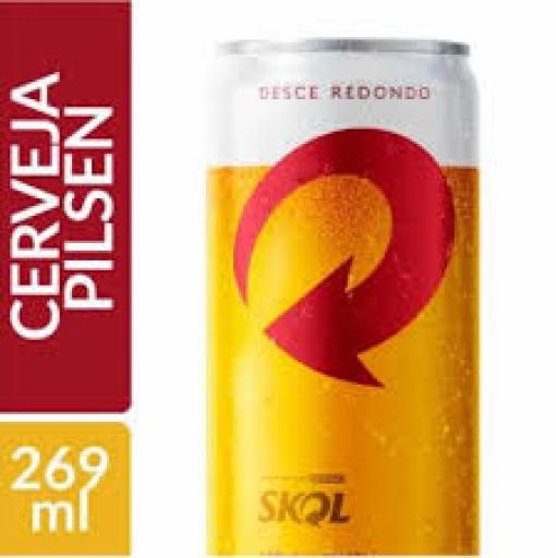 Cerveja Skol Lata  269 ML