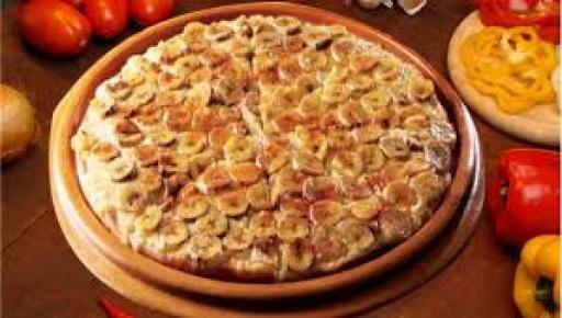 Pizza Pequena Banana