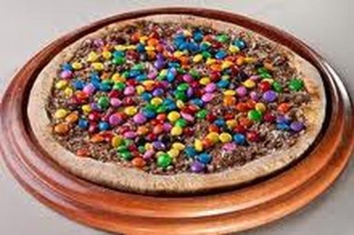 Pizza Pequena Chocolate M&m