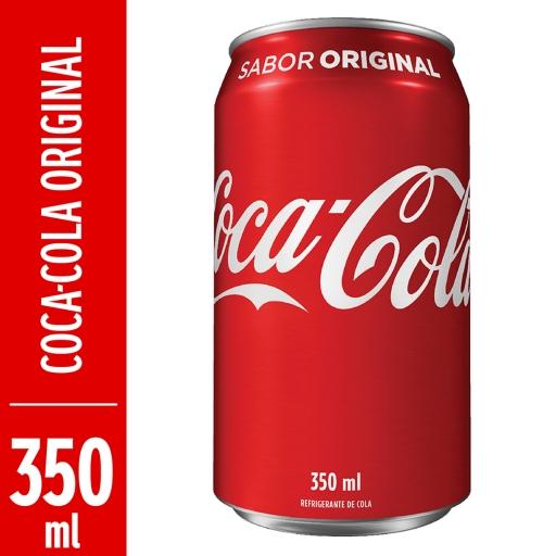 Refrigerante Coca-Cola Lata 350ML