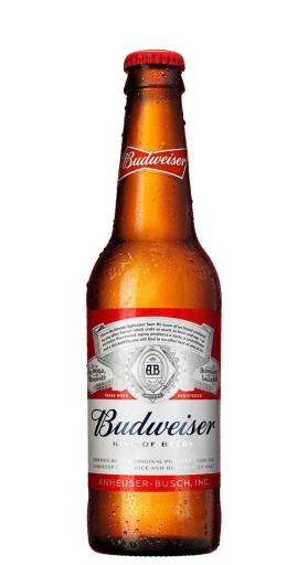 Cerveja Budweiser Long Neck 343ML