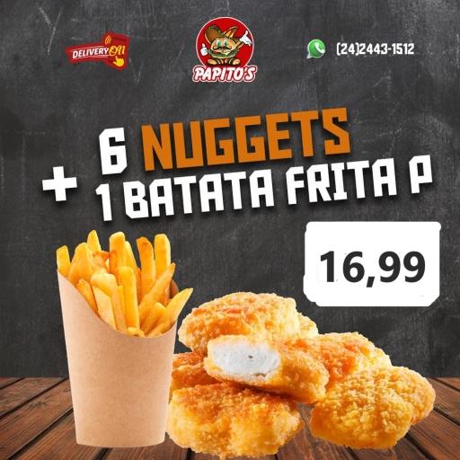 1 Batata Frita P + Nuggets ( 6 Uni)