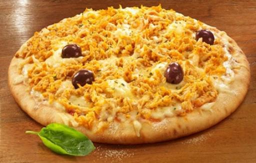 Pizza Grande Frango C/catupiry + Borda Gratis