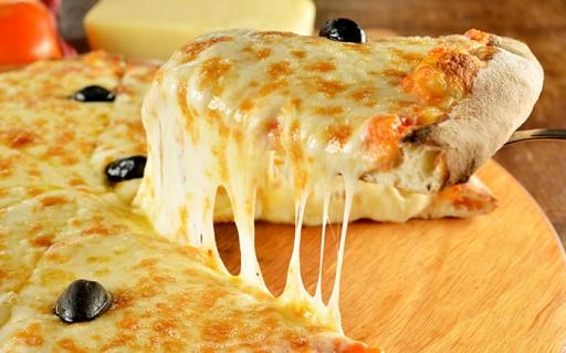 Pizza Grande Muçarela + Borda Recheada