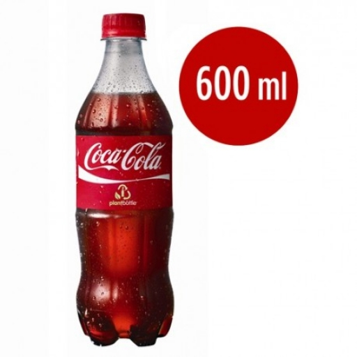 Refrigerante Coca-Cola 600ML