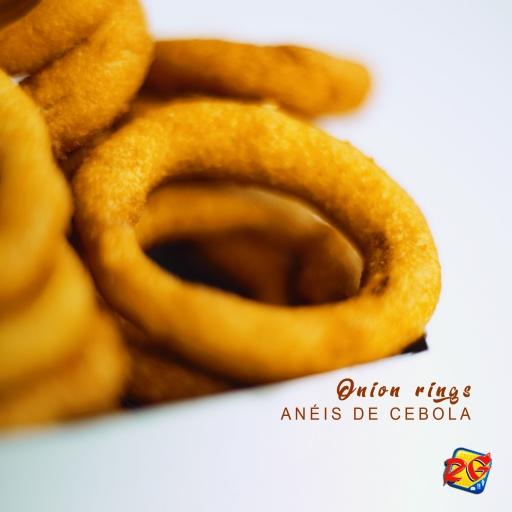 Onion Rings - Anéis de Cebola