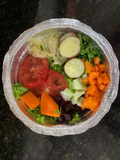 Salada Completa - Grande Variedade de Legumes