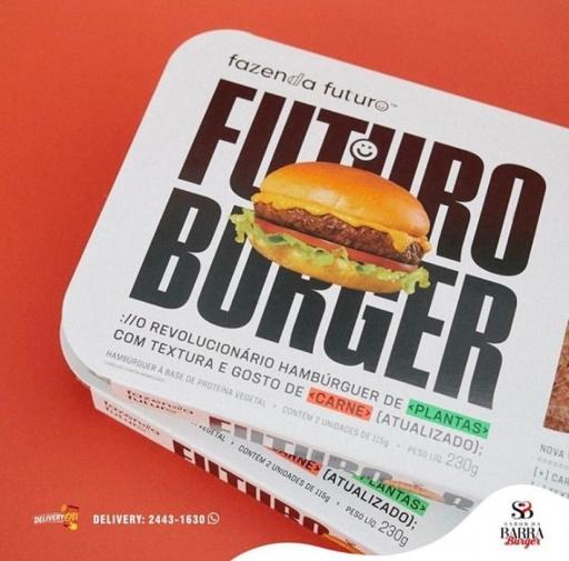 Hamburger do Futuro 100% Vegetal