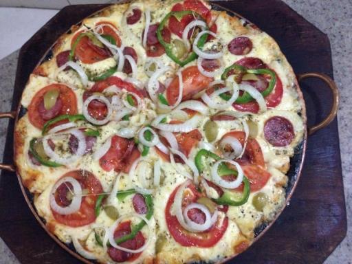 Pizza Família À Moda Da Casa