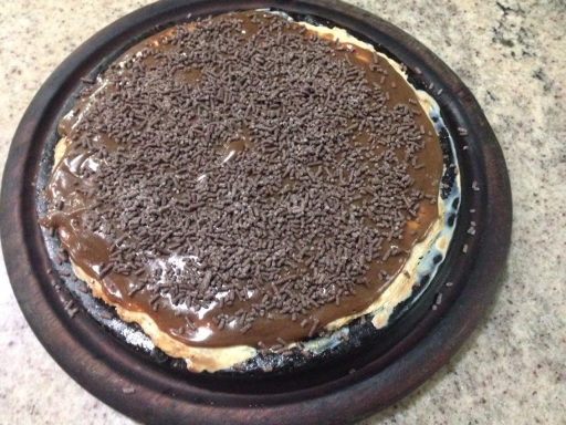 Pizza Pequena Chocolate
