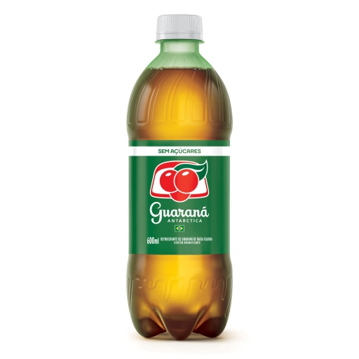 Guarana Antártica Zero 600 ML