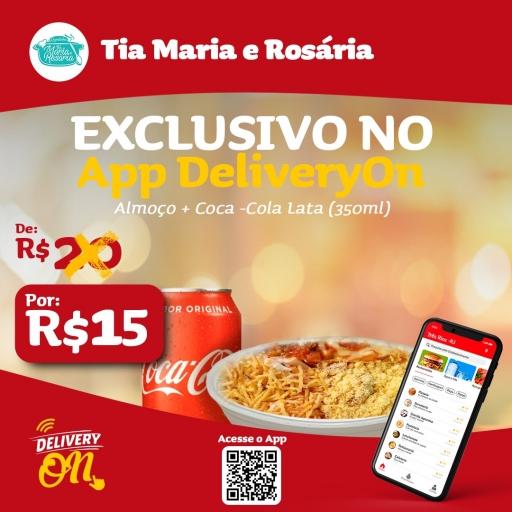 Monte Seu Almoço + Gratis Coca Cola 350ML