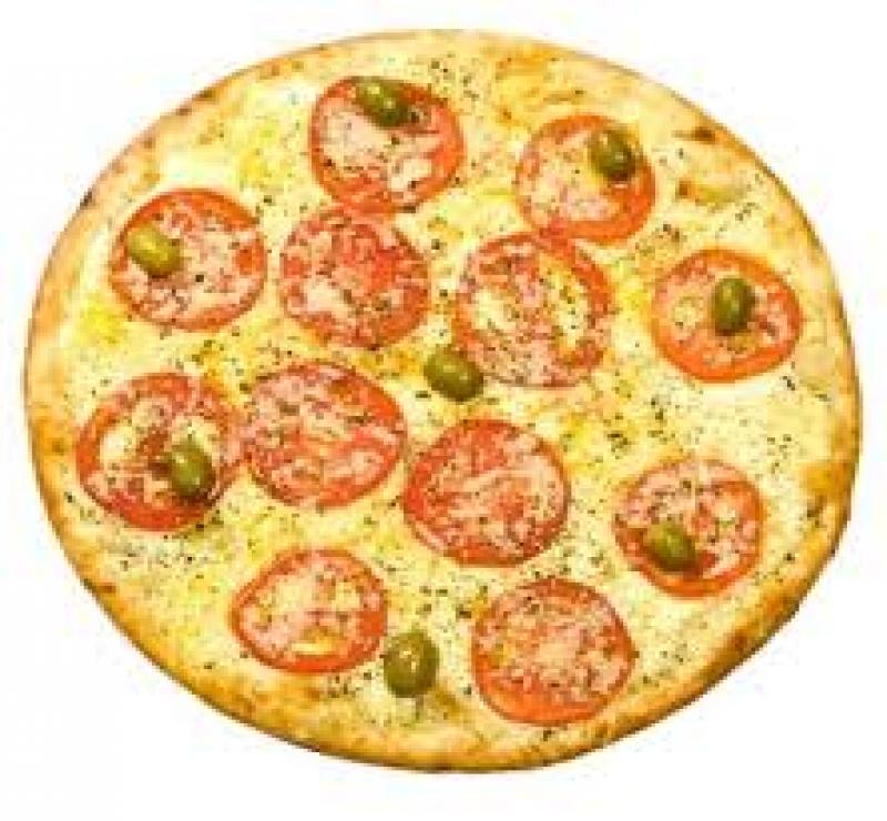 Pizza Média Napolitana + 1 Pizza Média + Kuat