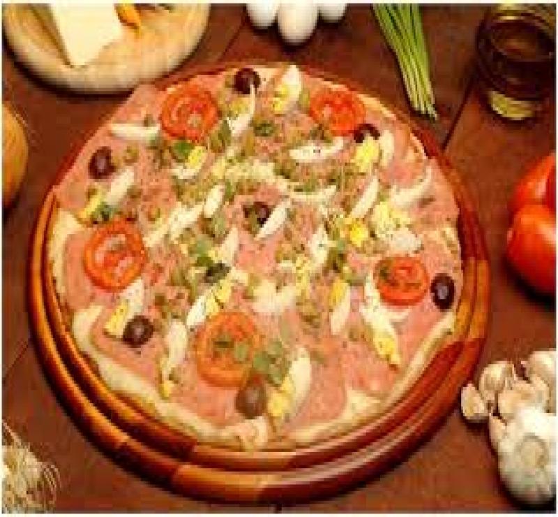 Pizza Maracana Napolitana + Guaraná Grátis