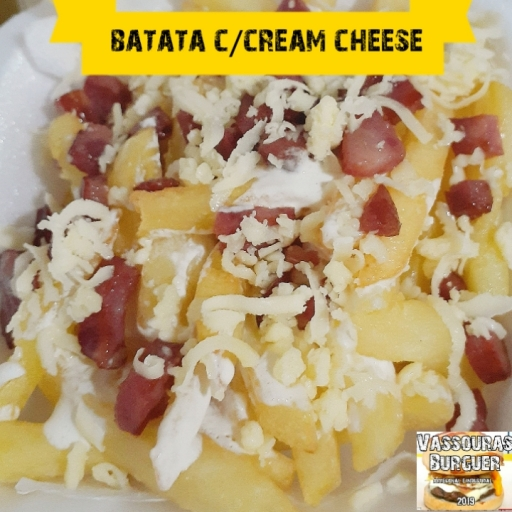 Batata C/cream Cheese (300G Méd)