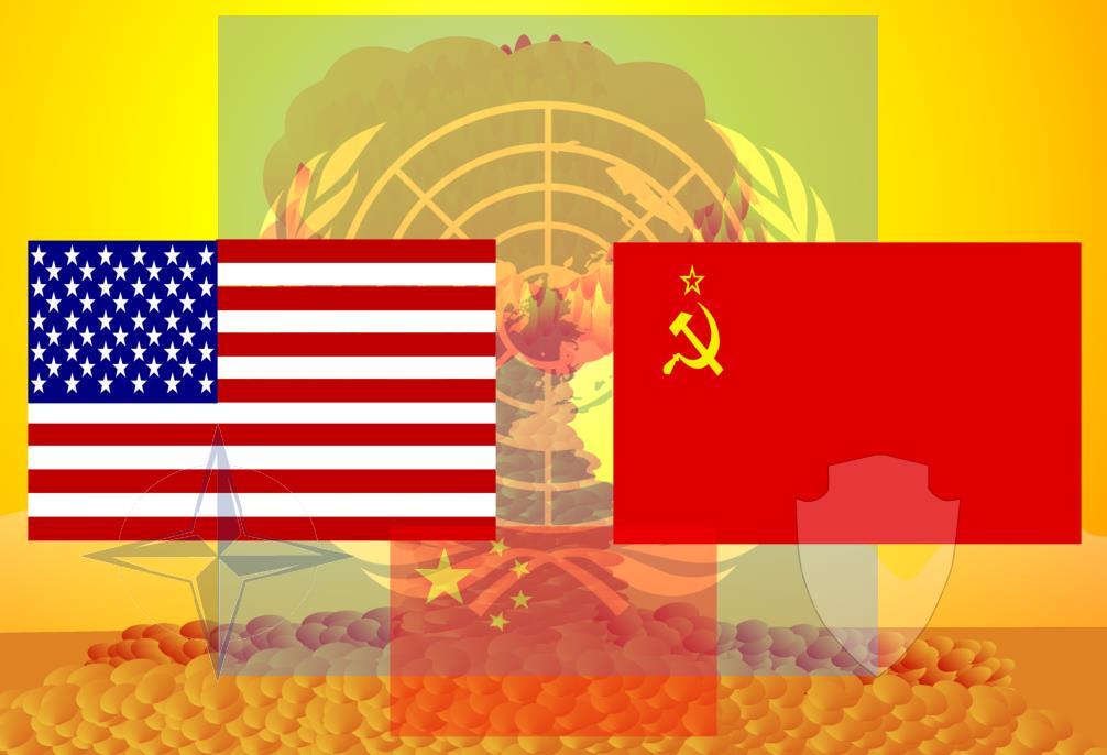 O embate indireto entre EUA e URSS, caraterística da Guerra Fria