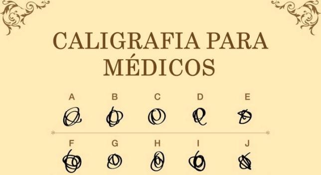 Ainda não é hora de treinar a sua letra de médico, ok? Deixe isso pra faculdade! :D