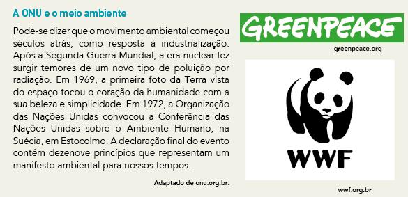 Exercício Resolvido  Conferências Ambientais e Sustentabilidade fe958a1750