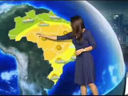 Previsão do tempo para o Brasil em um determinado dia