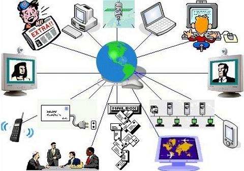 No mundo globalizado, ocorre a diminuição das barreiras nas comunicações