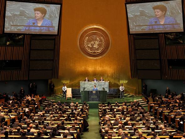 Sede da ONU onde ocorrem as Assembleias com os 193 países membros