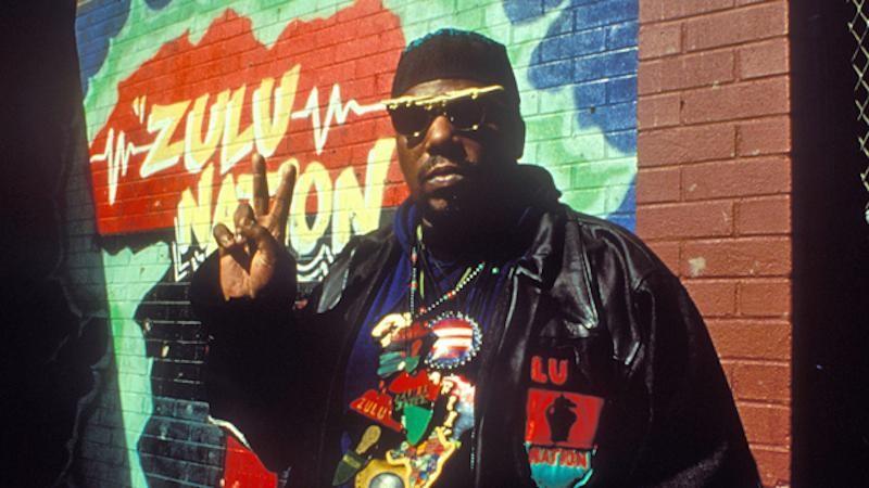 Afrika Bambaataa, conhecido como o padrinho do Hip hop