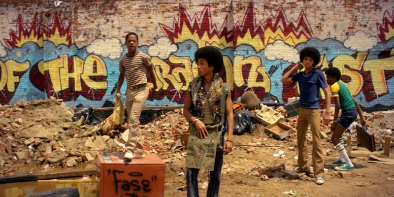 """Cena da série """"The Get Down"""", que retrata a origem do Hip hop"""