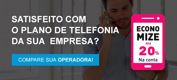 Satisfeito com o plano de telefonia da sua empresa?