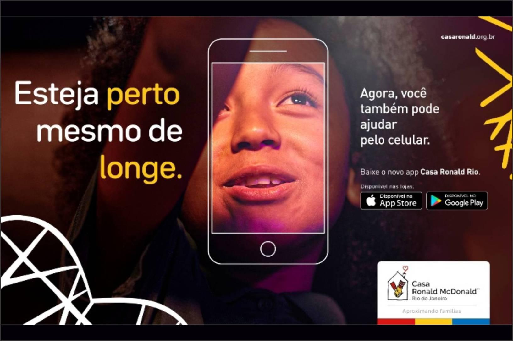 Casa Ronald Rio lança app