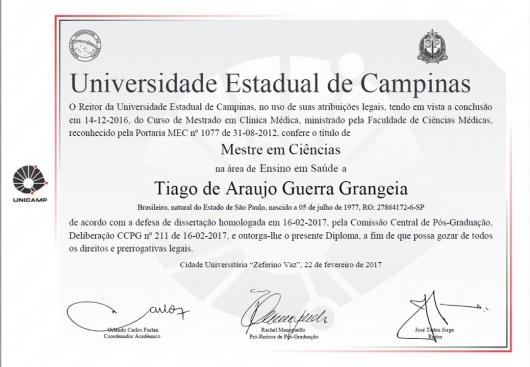 Tiago de Araujo Guerra Grangeia - Galeria