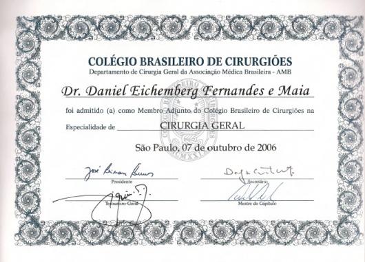 Daniel Eichemberg Fernandes E Maia  - Galeria