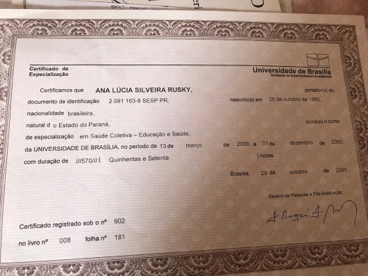 Ana Lucia Silveira Rusky - Galeria