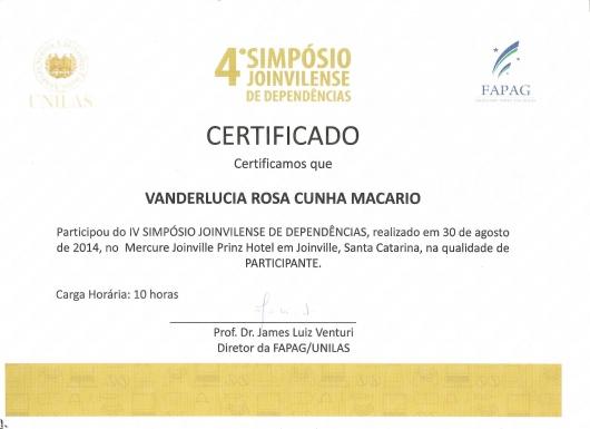 Vanderlúcia Rosa Cunha Macario - Galeria de fotos