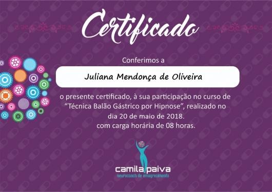 Juliana Mendonça - Galeria