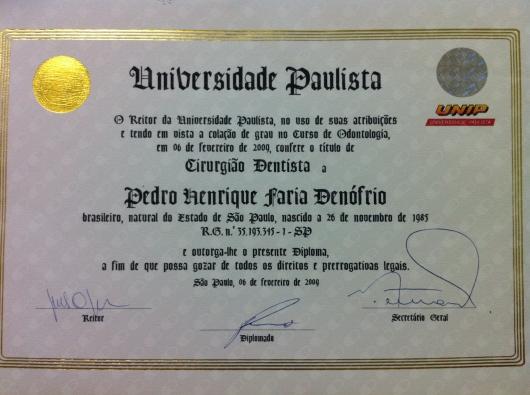 Pedro Henrique Faria Denofrio - Galeria de fotos
